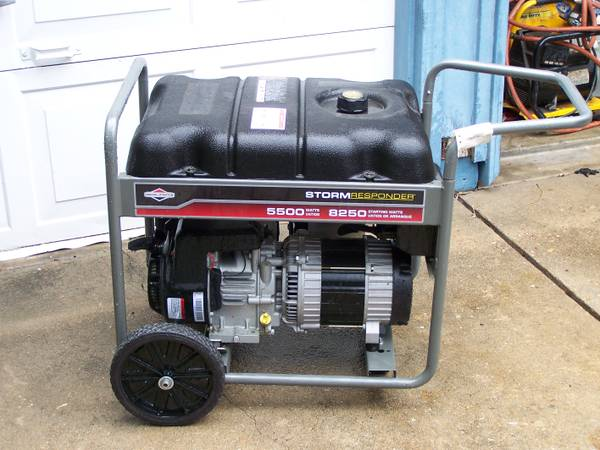 Storm Responder 5500 watt Generator - $425 (Southwest Houston-Alief)