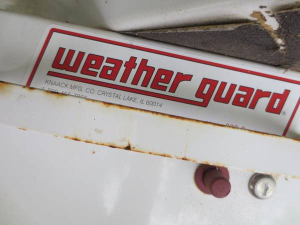 weatherguard tool box - $300 (Hobby airport area)