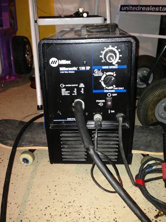 Millermatic 130xp welding machine mig - $650 (Spring woodlands)