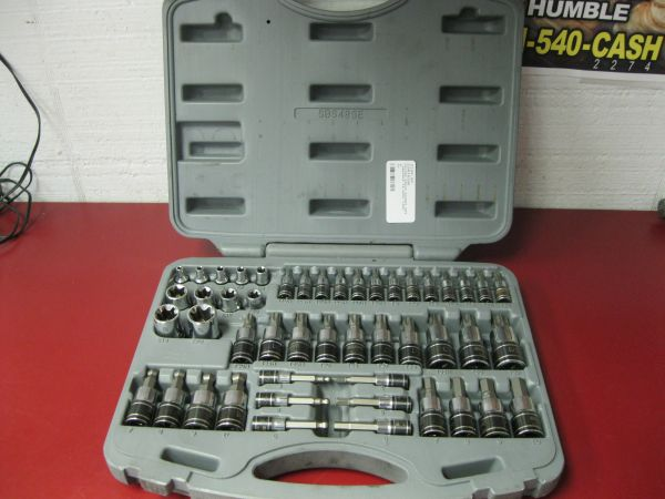 Matco silver eagle security bit set (fp) - $200 (Frontier Pawn  Gun)