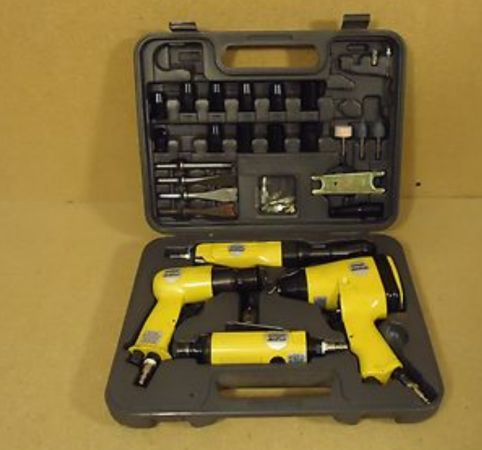 Alltrade Air Tools Combination Set 15in x 12in x 5in YellowBlackMetal - $60 (houston)