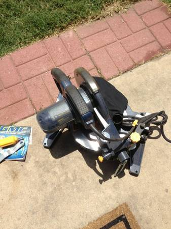 GMC 10 compound miter saw ms250aul - $135 (Cypress)