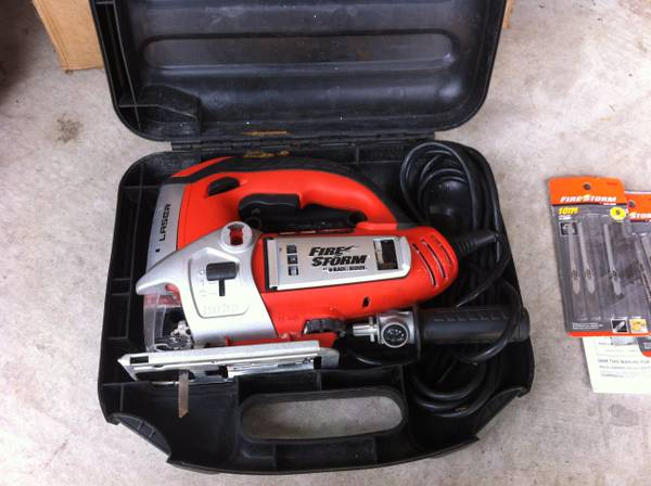 Firestorm Black Decker Orbital Action Jigsaw - $40 (Spring, TX)