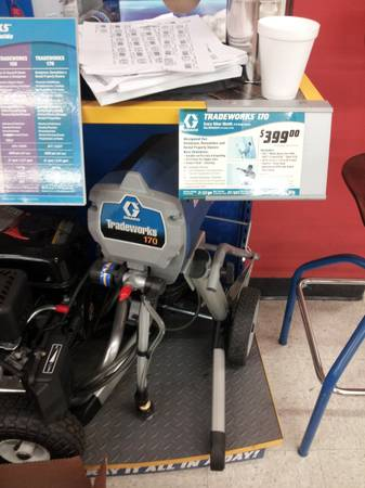 Graco Tradeworks 170 airless sprayer - $300 (WallerTomball)