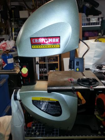 Sears Craftsman Professional 10 Tilting Table Band Saw wStand - $150 (Sugar Land)