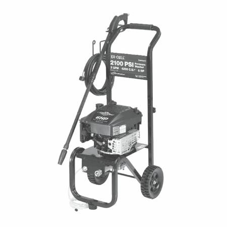 Briggs and stratton 2100 psi pressure washer (NICE) - $250 (spring )