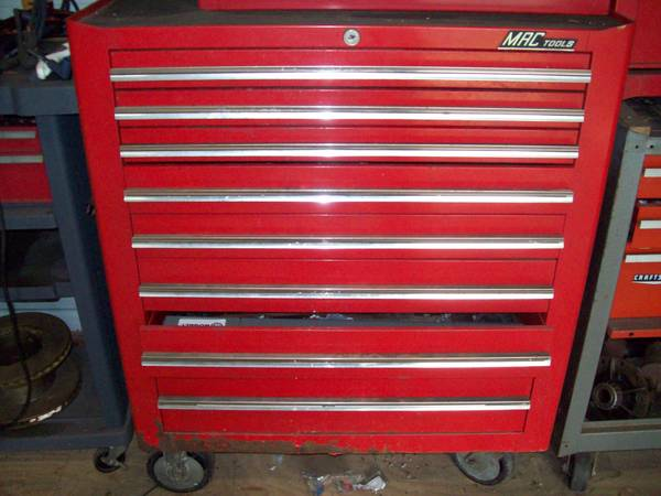 MAC Tools 8 drawer tool box, Misc - $400 (Brazoria)