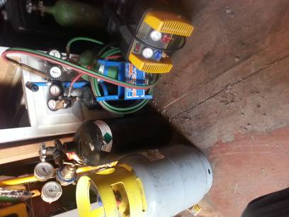 Brazing torch yellow jacket Apion recovery machine Nitrogen tank Ac tools Air co - $750 (south east)