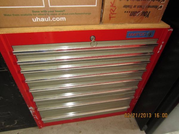 MATCO tool box - large 8 drawers good condition - like Snapon (Houston)