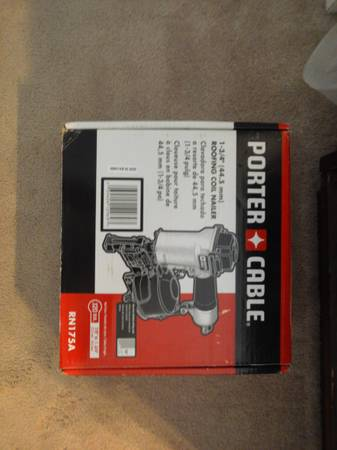 Porter Cable RN175A Roofing Coil Nailer - $160 (spring)
