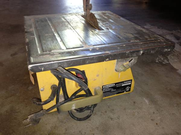 Workforce THD550 tile cutter - $25 (WestburySW Houston)