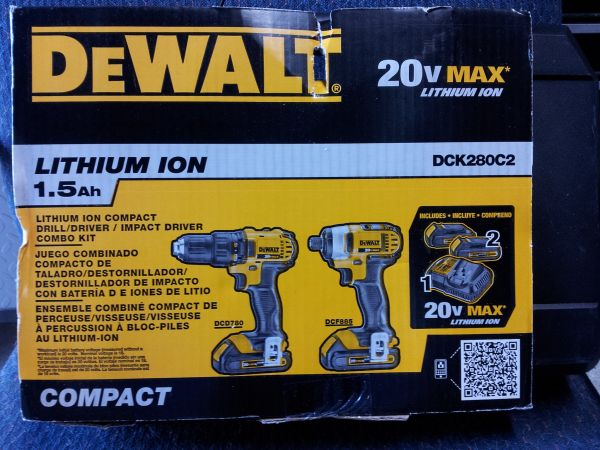 New Dewalt Drills (katy)