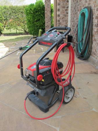 Troy Bilt Pressure Washer - $250 (Tomball, TX)