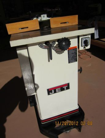 JET 1-12 HP Closed Stand Shaper - $450 (Crosby, Texas)