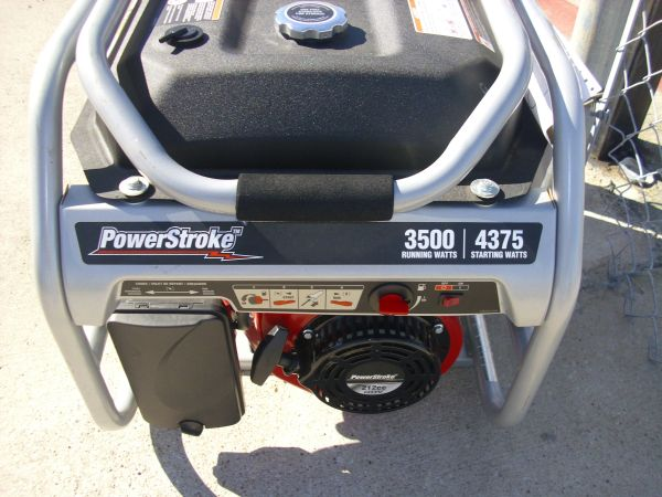 Generator Powerstroke 3500 watts - $250 (webster)
