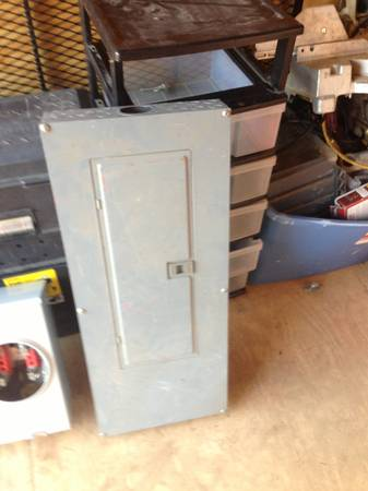 Square D 200a panel and meter socket - $100 (Sugar land)