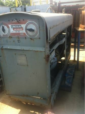 Lincoln red face diesel welder - $3000 (I10 and beltway 8)