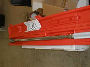 New snap on torque wrench 250 lbf - $100 (spring tx)