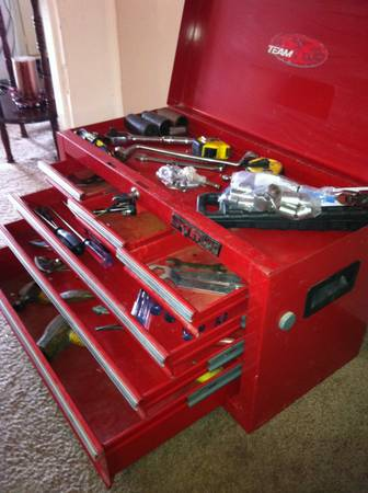 Red Waterloo Shop Series WCH-266 26 6 Drawer Locking Tool Box  - $85 (Pearland)