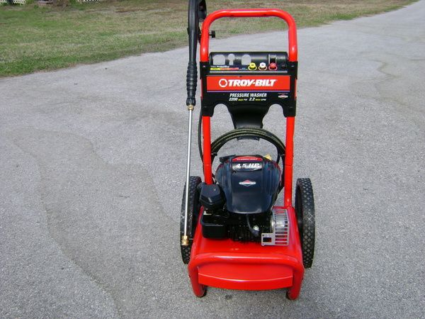 Troy Bilt 5550 Watt Generator and Pressure Washer set (Spring Branch )