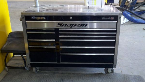 Snapon classic 78 toolbox (Montgomery)
