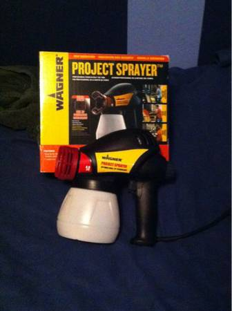 New In Box Wagner Project Sprayer dual tip p Optimus Airless Cup Gun Portable Ha - $47 (Baytown)