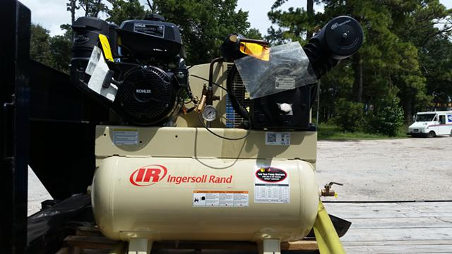 800  Ingersoll rand air compressor new