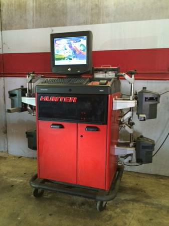 Hunter R611 Alingment machine $5500 OBO - x00245500 (Sw houston)
