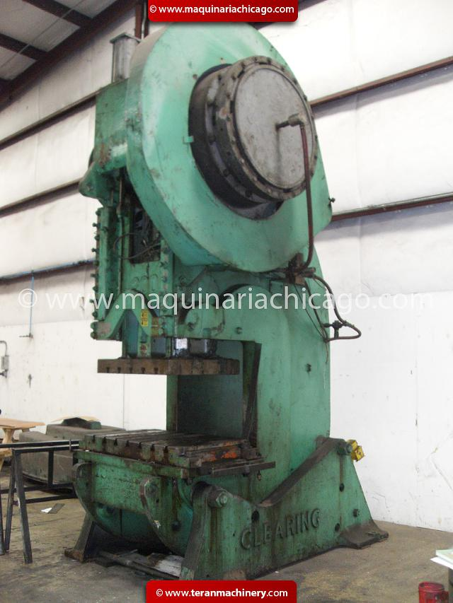 bliss Punch Press 1100 Ton
