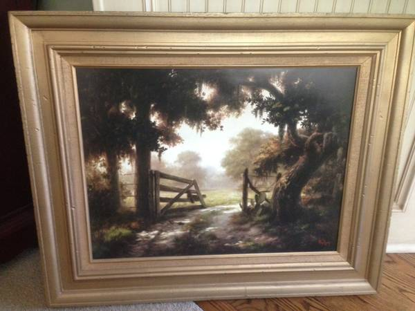 Dalhart Windberg print One Summer Day - $125 (Tomball)