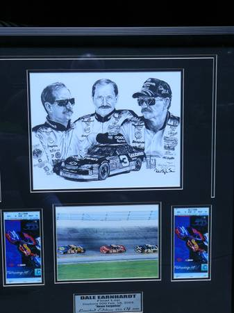 dale earnhardt last lap - $200 (greater houston area)