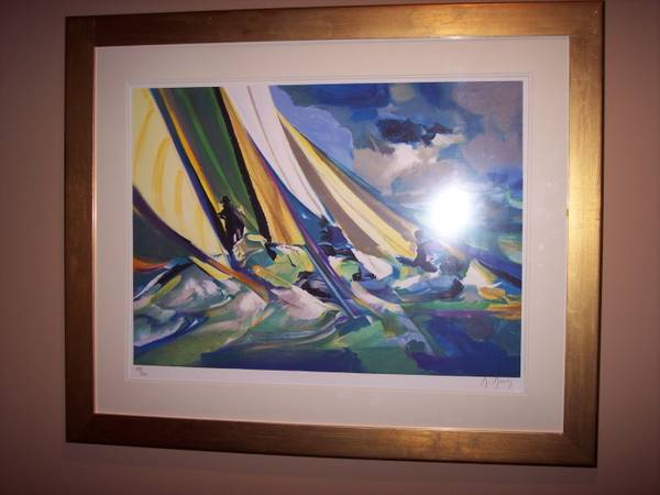 Marcel Mouly lithograph - $1000 (Kingwood, TX)