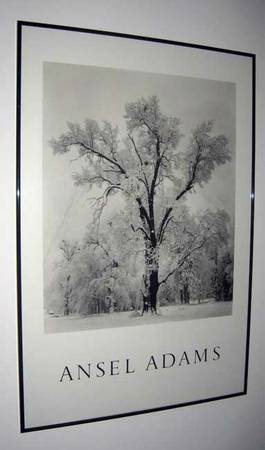 9608 Ansel Adams black white poster --Framed 9608