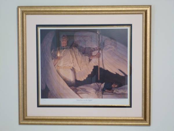 ARTISTS SIGNED PRINT Watchers in the Night, Thomas Blackshear ll - $1200 (Pittsburgh, PA)