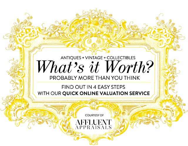 25  Whats It Worth Easy Online Antique  Vintage Appraisals Houston