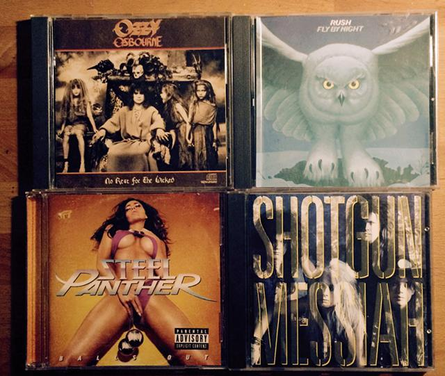 300 QUALITY HEAVY METAL CDs  hard rock cds for sale or will trade for record albums