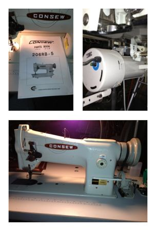 Consew 206RB-5 Walking Foot Leather Sewing Machine - $1700 (Houston)