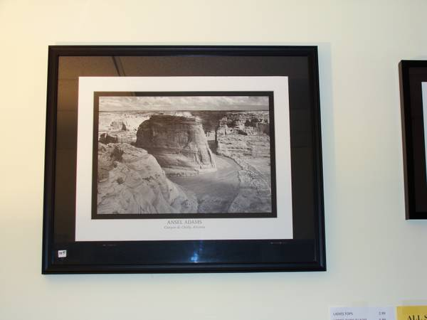 ANSEL ADAMS FRAMED PRINTS - $100 (SPRING TX)