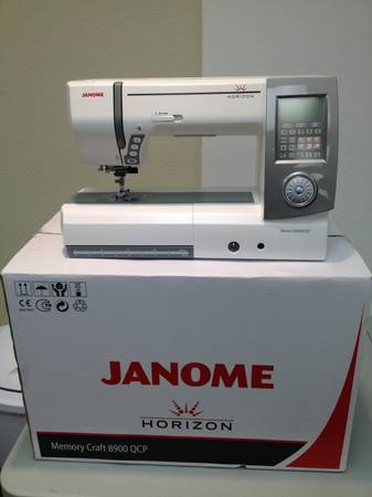 Janome Horizon MC 8900QCP Sewing Quilting Machine QCP 8900 7700 QCP - $2999