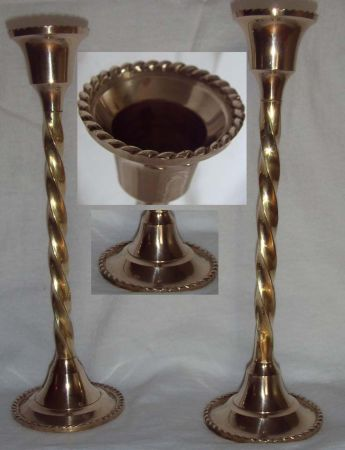 different types of candlestick holders (Houston,tx)