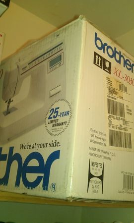 Brother Sewing Machine XL 3030 Almost New-Still in Box - $125 (Houston)