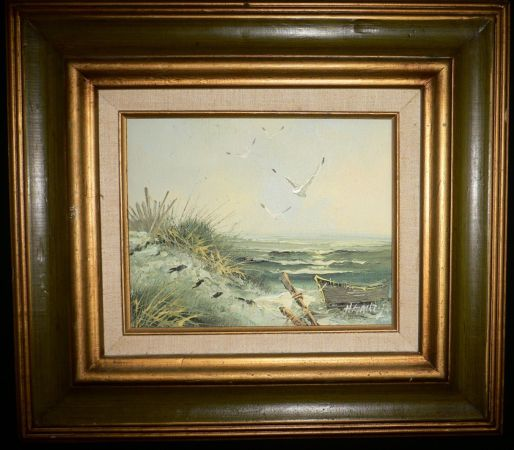 H.GAILEY ORIGINAL OIL PAINTING - $99 (610 AND 290)