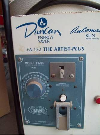 Duncan EA-122 Energy Saver Kiln and Molds - $275 (Spring)