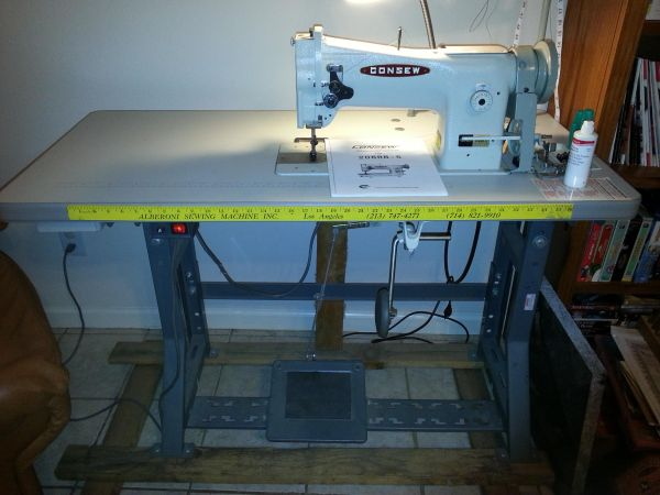 Consew 206RB-5 Walking Foot Sewing Machine - $1000