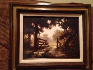Dalhart Windberg One Summer Day framed print 1970 - $200 (MemorialWest Houston)