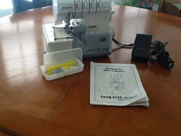 Simplicity Easy Lock 804DSP Serger - $125 (League City)