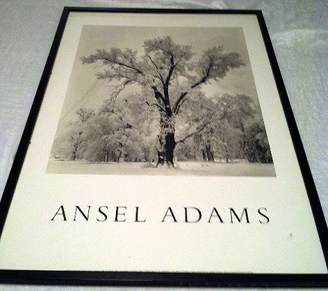 Ansel Adams Framed Print - $75 (The Woodlands TX)