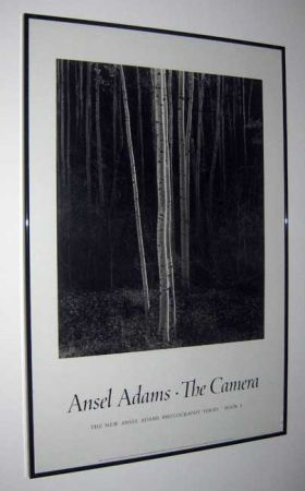 96089608 Ansel Adams black white poster --Framed 96089608