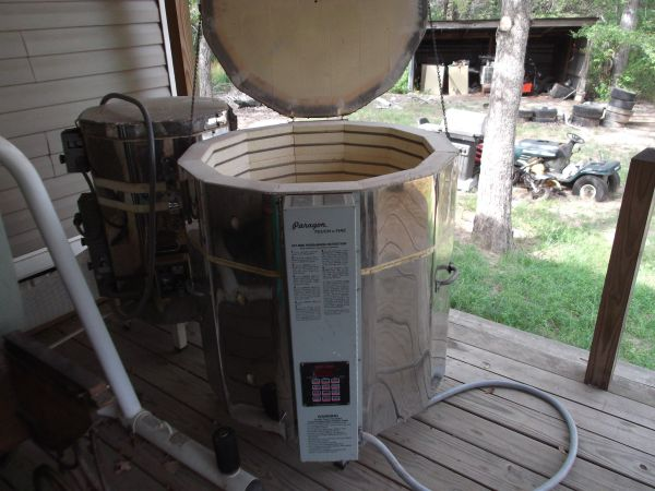 Kilns, Mixer and Pump - $2200 (Centerville,  Tx.)