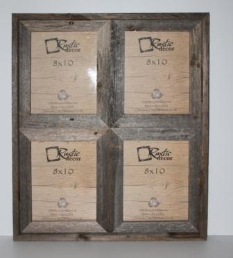 Rustic Window Collage Photo Frames